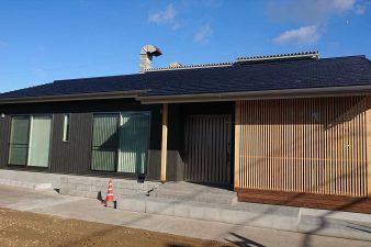 岐阜市 A様邸完成 施工面積約34坪 格子とデッキのある平屋の住まい