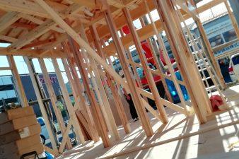 新モデルハウス建設中です②