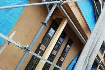 新モデルハウス建設中です③