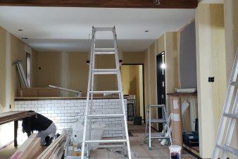 新モデルハウス建設中です⑧