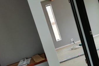 新モデルハウス建設中です⑨